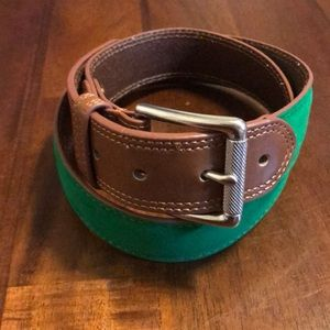 "Brooks Brothers Accessories - Brooks Brothers ""346"" Leather Belt"